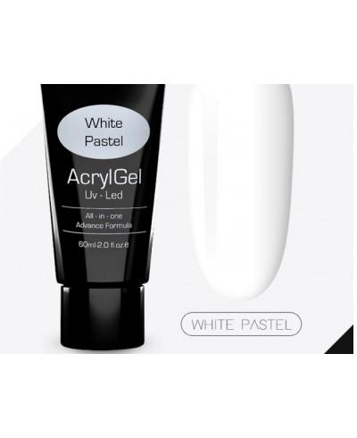 Acrylgel 60 ml white pastel