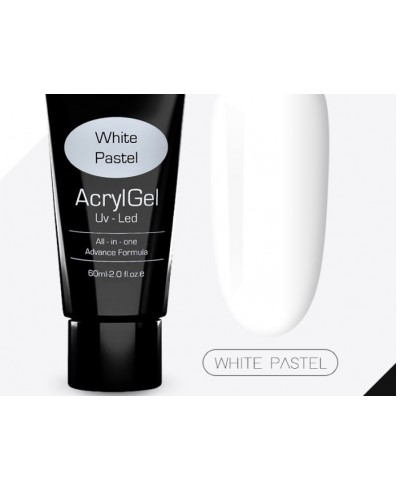 Acrylgel 60 ml white pastel